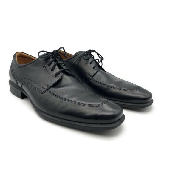 ECCO Other - NEW ECCO Mens Oxfords Black Leather Shoes